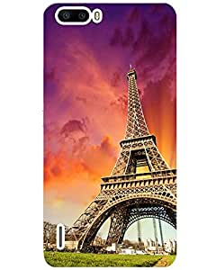 Huawei Honor 6 plus Printed Mobile Back Cover Case