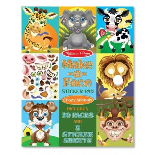 Melissa And Doug Sticker Book front-1043962