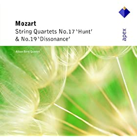 Mozart : String Quartets Nos 17, 'Hunt' & 19, 'Dissonance' - Apex