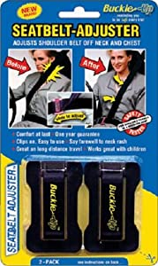 Masterlink Marketing 296-bu Black Seatbelt Adjuster, (Pack of 2) by Masterlink Marketing
