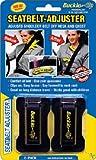 Masterlink Marketing 296-bu Black Seatbelt Adjuster, (Pack of 2)