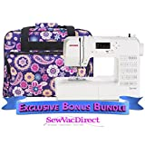 Janome DC1050 Computerized Sewing Machine with Exclusive Bonus Bundle
