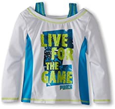 Puma Kids Girl39s Puma Live Two-Fer Tee Little Kids