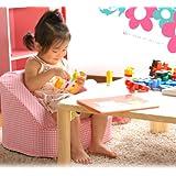 ミニソファー (レッド) 子供用 ソファ 椅子