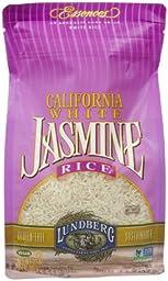 Lundberg Eco-Farmed Rice - Jasmine White - 32 oz