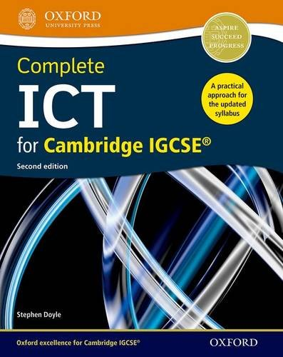 Complete ICT for Cambridge IGCSE (Second Edition) (Cambridge Igcse Ict)