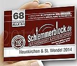 Schlemmerblock Neunkirchen & St. Wendel 2014 ~ ab sofort bis 1.12.2014 gültig