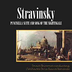 Stravinsky: Pulcinella Suite/Song Of The Nightingale
