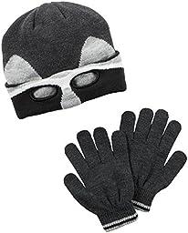 Carter\'s Baby Boys Winter Hat-Glove Sets D08g038, Grey, 2T4T