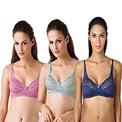 Bodyline Full Coverage Floral Lacy Spring Pretty and Royal Bra