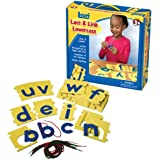 Lauri Toys Lace and Link Letters (lowercase)