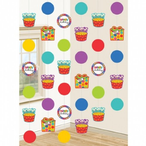 Birthday Dots & Stripes String