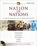 Nation of Nations Concise Volume I w/ After the Fact Interactive Salem Witch Trials, MP: A Concise Narrative History of the American Republic (0072502770) by Davidson, James West