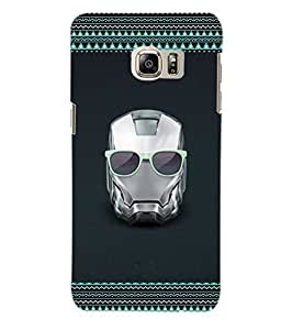 ColourCraft Skull Back Case Cover for SAMSUNG GALAXY NOTE 5 EDGE