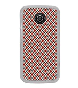 ifasho Designer Phone Back Case Cover Motorola Moto E2 :: Motorola Moto E Dual SIM (2nd Gen) :: Motorola Moto E 2nd Gen 3G XT1506 :: Motorola Moto E 2nd Gen 4G XT1521 ( Green Purple Colorful Pattern Design )