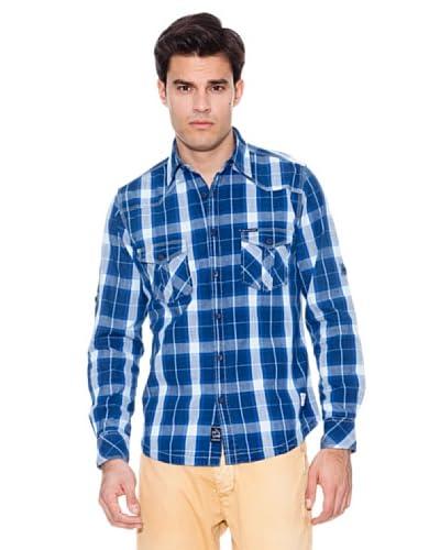 Pepe Jeans London Camicia Bigroar [Blu/Celeste]