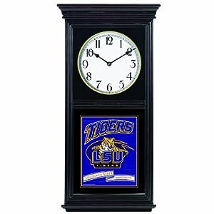NCAA Louisiana State Fightin Tigers Regulator Clock by WinCraft
