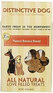 Distinctive Dog Peanut Banana Bread Dog Treats