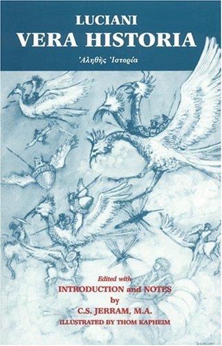 Lucian: Vera Historia (Greek Edition)