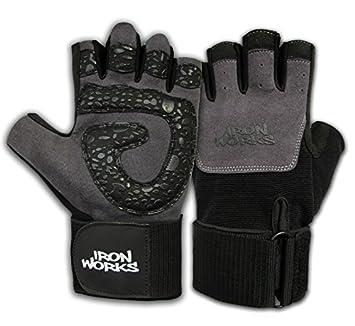 ironworks gants en gel gel pour la musculation poignet sports et loisirs m55. Black Bedroom Furniture Sets. Home Design Ideas