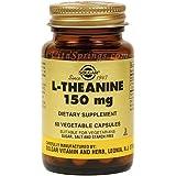 Solgar L-Theanine Vegetable Capsules - 60 Capsules