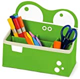 P'Kolino Mess Eaters Desk Caddy, Green by P'KOLINO