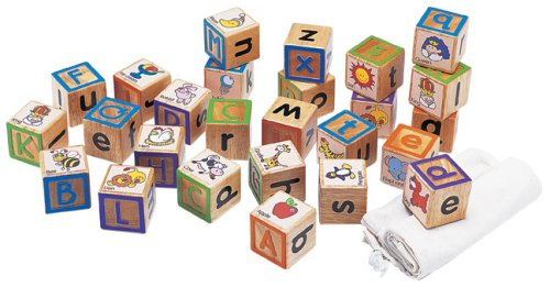 Wonderworld Eco-Friendly ABC Touchy Blocks