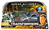 Transformers Human Alliance Autobot Jazz with Captain Lennox Figure