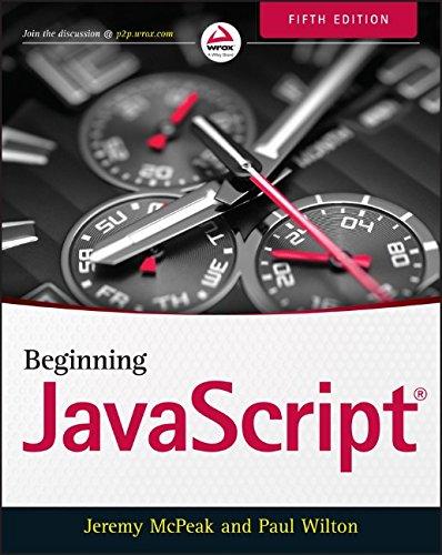 Beginning JavaScript PDF