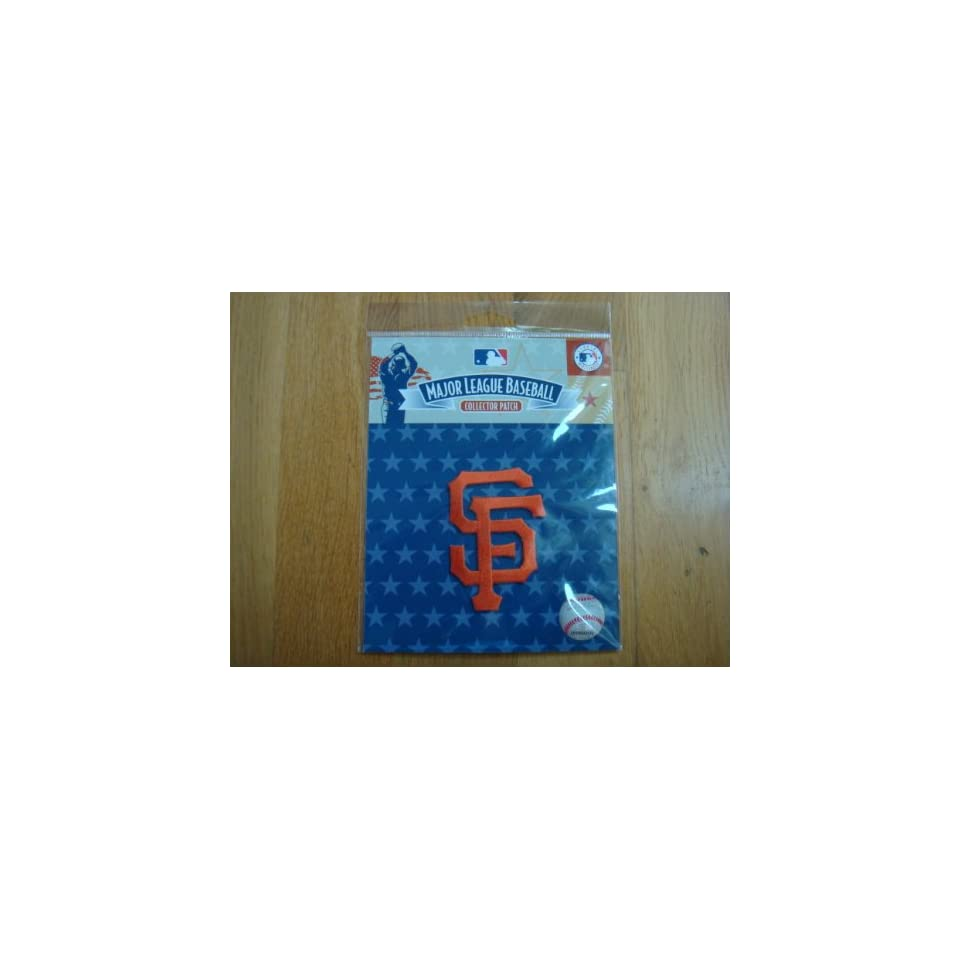 San Francisco Giants SF Logo MLB Baseball Sleeve Patch