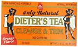 Only Natural Dieters Cleansing Tea - Orange, 24-Count