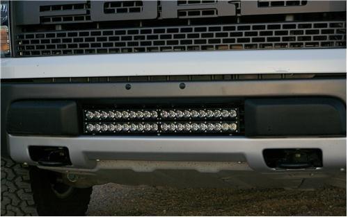 Stealth Led Light Bar Ford Raptor Double Mount Kit