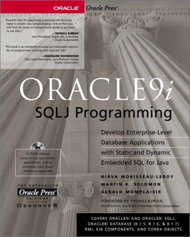 Oracle9i SQLJ Programming