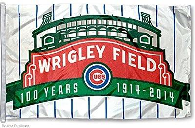 Chicago Cubs Big 3x5 Flag
