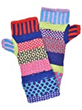 Solmate Socks Mismatched Fingerless Mittens, One Size