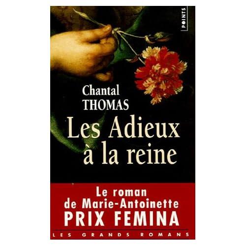 """Livre """"Les adieux à la Reine"""" de Chantal Thomas 51HNE8N5CBL._SS500_"""