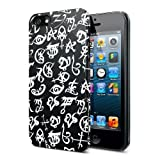 The Mortal Instruments City Of Bones Iphone 5 Case Black And White Runes
