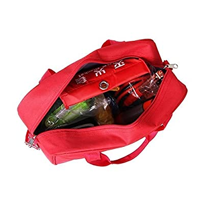 Amzdeal First Aid Kit Portable Emergency Survival Tool Bag for Car from Amzdeal