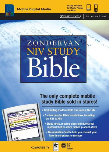 Buy PalmOne Zondervan NIV Study Bible CD