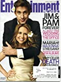 Entertainment Weekly October 2 2009 John Krasinski & Jenna Fisher/The Office Wedding on Cover, Celebrity Deaths, Spike Jonze & Tim Burton & Wes Anderson, Toronto Film Festival, Margaret Atwood