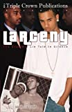 img - for By Jason Poole Larceny (Triple Crown Publications Presents) [Paperback] book / textbook / text book
