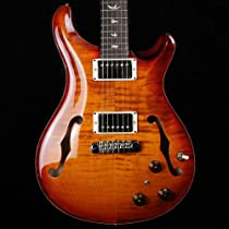 PRS Hollowbody II HBII with Piezo - Dark Cherry Sunburst - 2013 #204514
