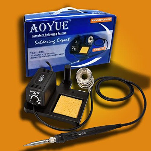 Find Discount Aoyue 469 Variable Power 60 Watt Soldering Station with Removable Tip Design- ESD Safe