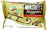 Hersheys Christmas Special Dark with Almond Nuggets Bag, 10-Ounce