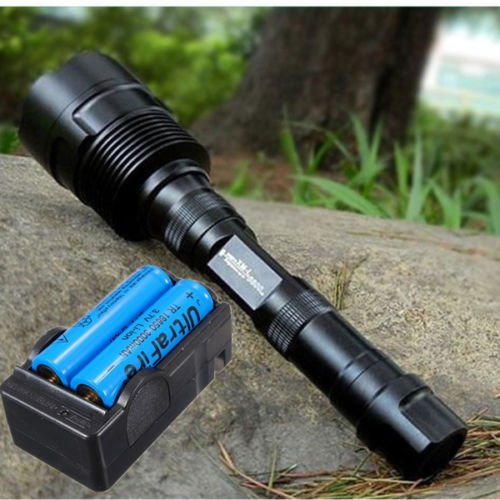 Ultrafire 4000Lm 3X Cree Xm-L 3T6 Led 18650 Flashlight Torch+Battery+Charger