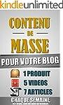 Contenu De Masse Pour Votre Blog: 1 H...