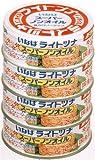 (お徳用ボックス) いなば ライトツナスーパーノンオイル 4缶シュリンク ×12個