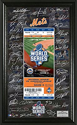 MLB New York Mets 2015 Signature Ticket
