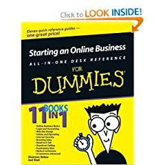Starting an Online Business All-in-One Desk Reference For Dummies (For Dummies (Computer/Tech)) (Paperback)
