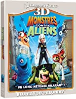 Monstres contre Aliens [Combo Blu-ray 3D + Blu-ray 2D]